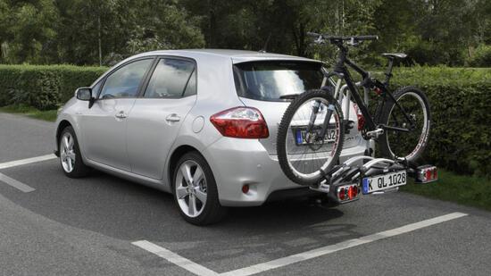 fahrradtransport mit dem pkw warntafel im ausland. Black Bedroom Furniture Sets. Home Design Ideas