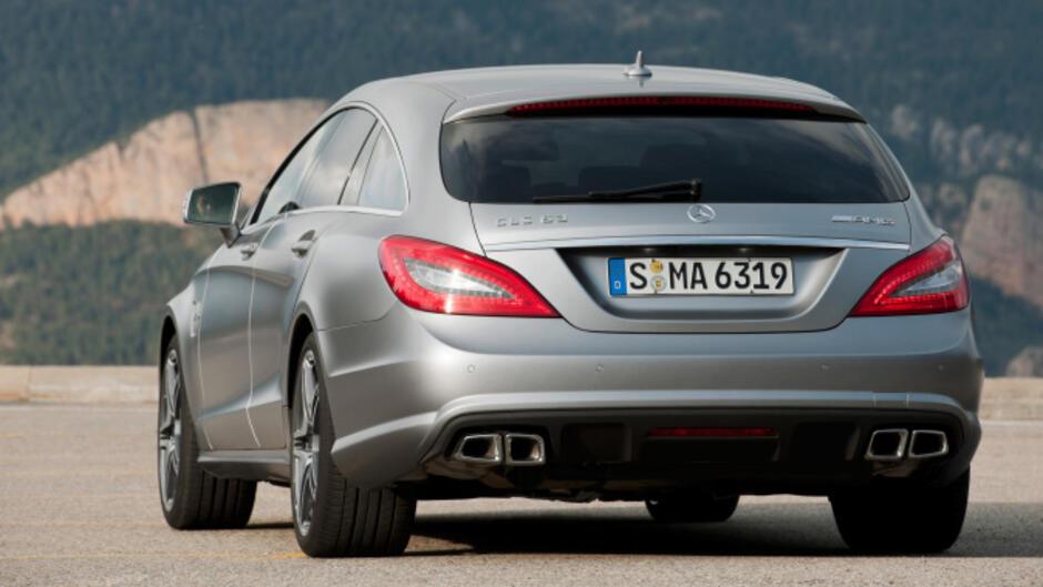 Mercedes Cls 63 Amg Shooting Brake Rennwagengefühle Im Design Lastesel