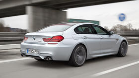 BMW M6 Gran Coupé: Power in allen Lebenslagen