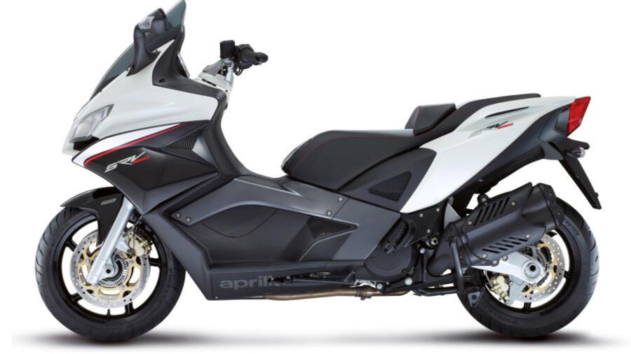 Großroller Aprilia Srv 850 Der Superbike Scooter