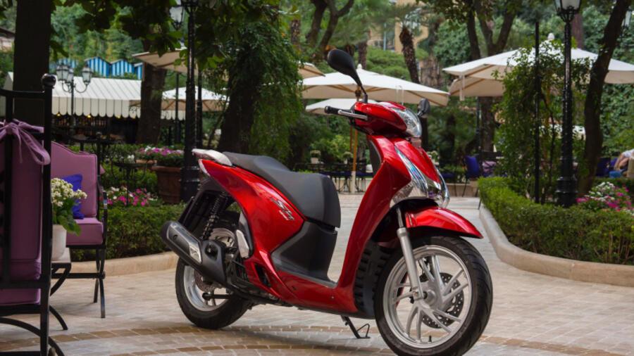 Honda Sh 125i Der Sparsame High Tech Scooter