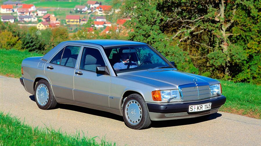 Mercedes c klasse vom baby benz zum bestseller for Baby mercedes benz
