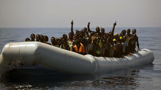 Migranten Libyen