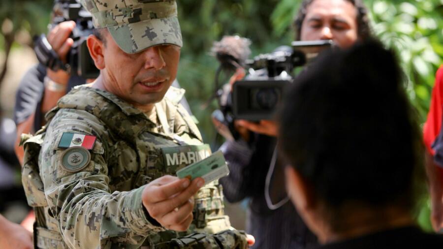 Rund 15 000 mexikanische Soldaten kontrollieren an US-Grenze
