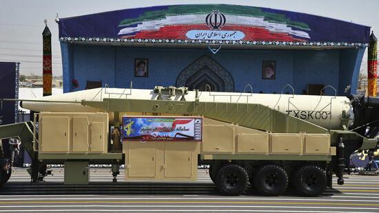 Iran provoziert mit Test von neuer Rakete