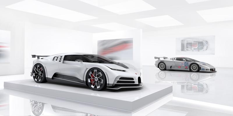 Bugatti Centodieci – im Kunstwerk auf 380 Stundenkilometer