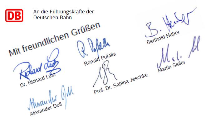 Deutsche Bahn Brief Db Chef Lutz Kritisiert Führungskräfte