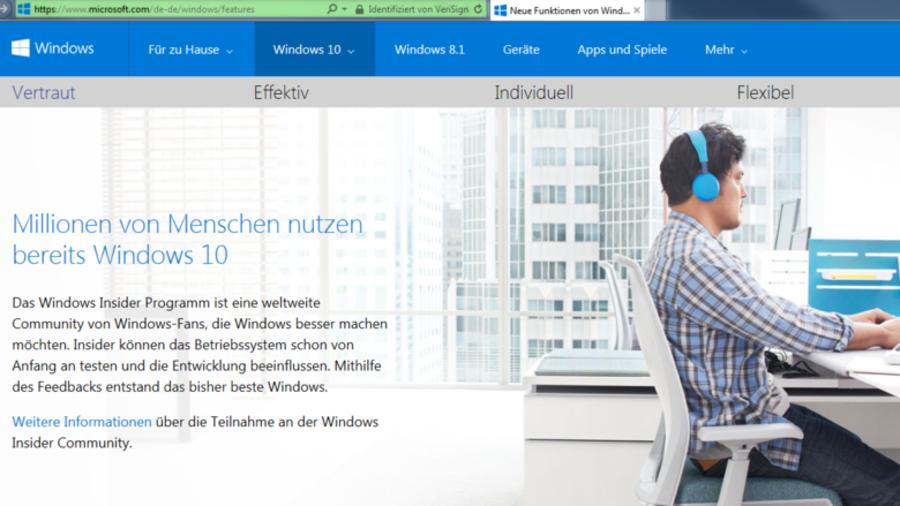 Microsoft: Die wichtigsten Neuerungen bei Windows 10