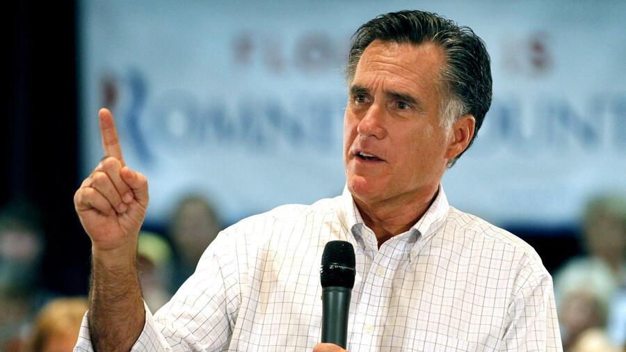Trump unterstützt seinen Kritiker Mitt Romney bei der Senatswahl
