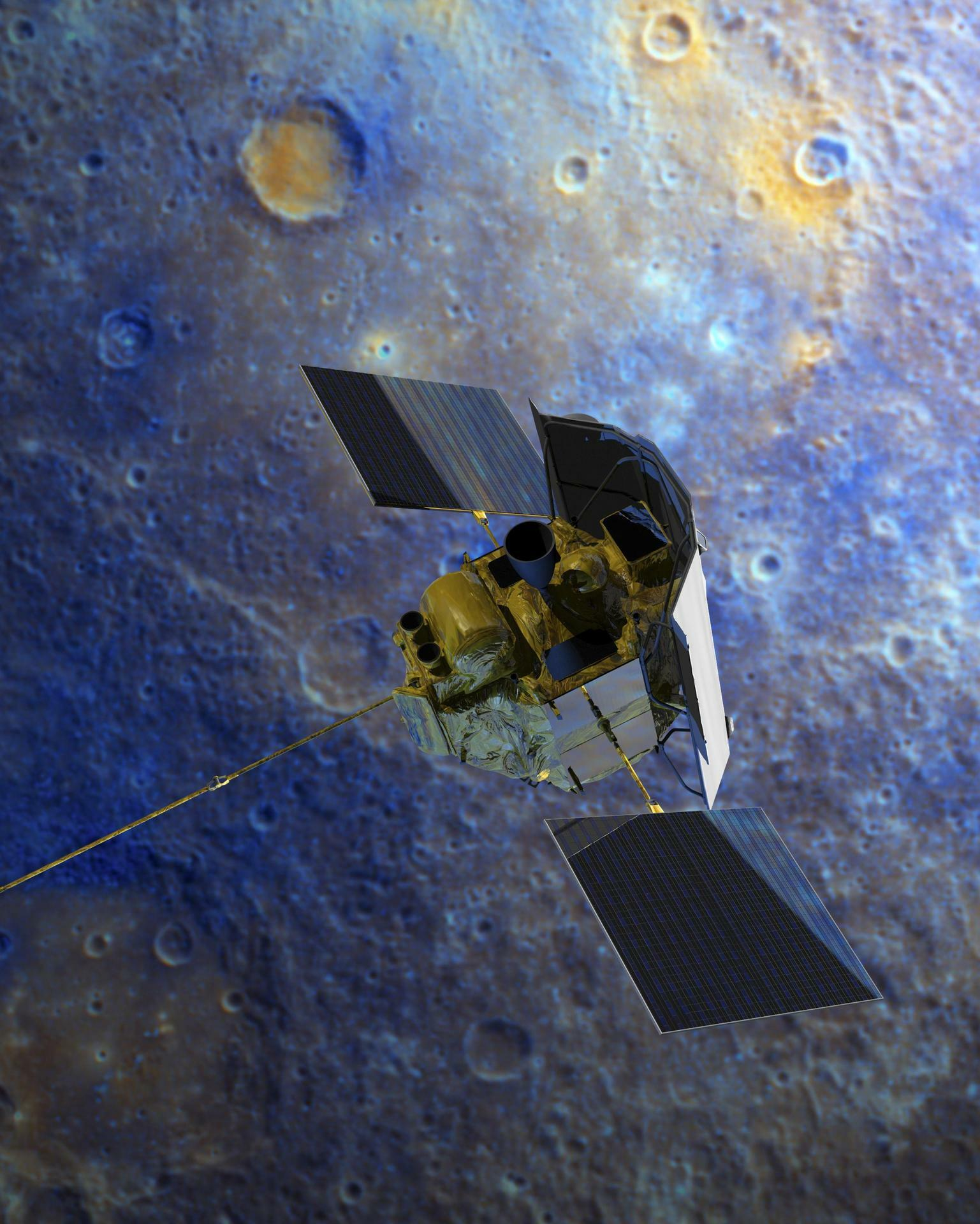 messenger spacecraft launch date - HD2881×3600