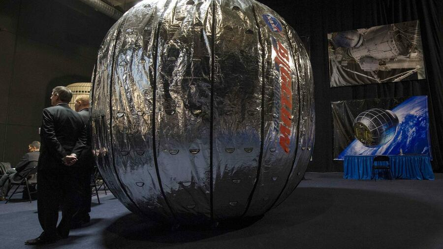 """Beam"" steht für ""Bigelow Expandable Activity Module"". Quelle: Reuters"