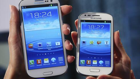 Modelle des Samsung Galaxy S3 mini. Quelle: Reuters