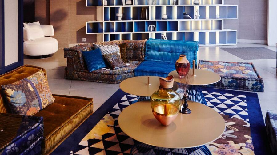 Roche Bobois: Wieso die Mah-Jong-Couch zum Designklassiker wurde