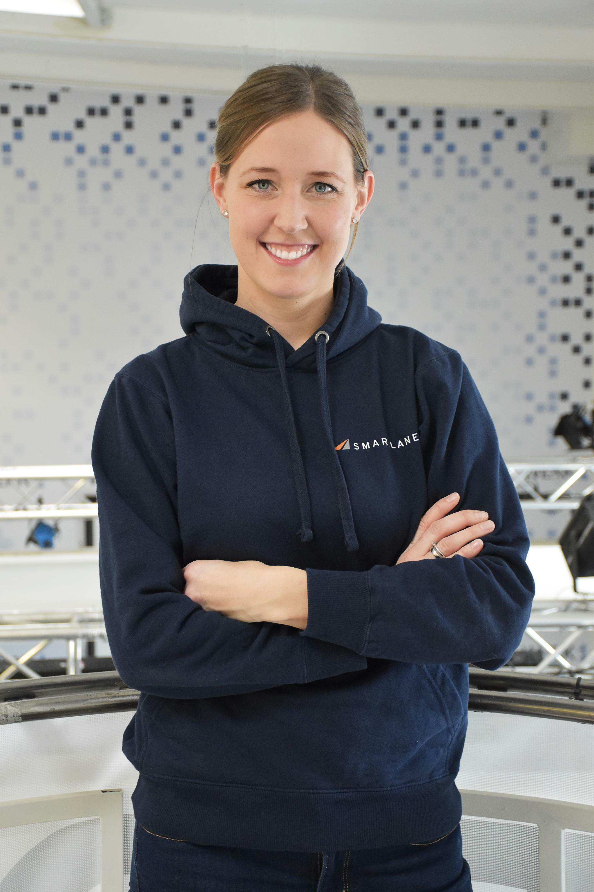 Smartlane-CEO Monja Mühling im Podcast Handelsblatt Disrupt