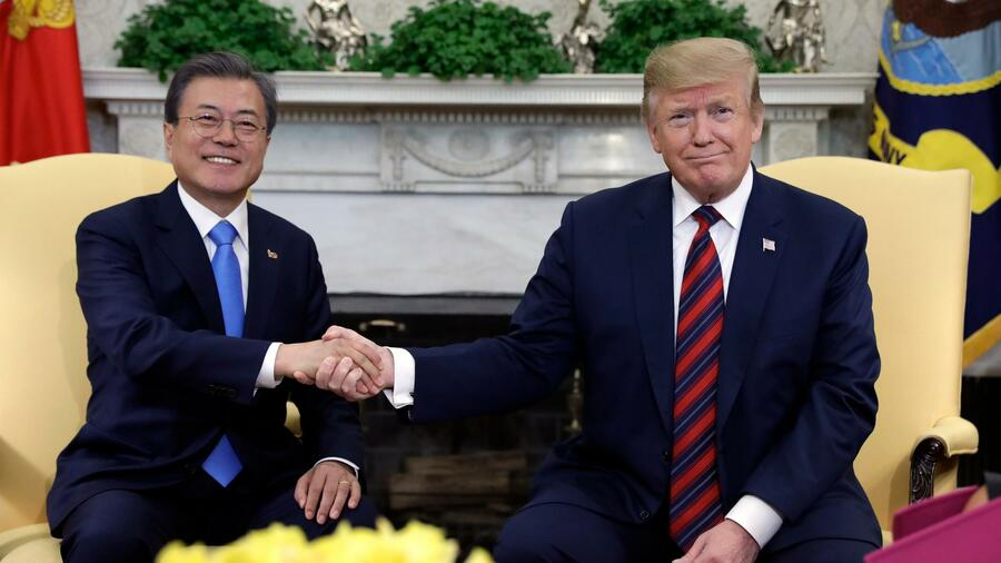 Trump besucht im Juni Südkorea