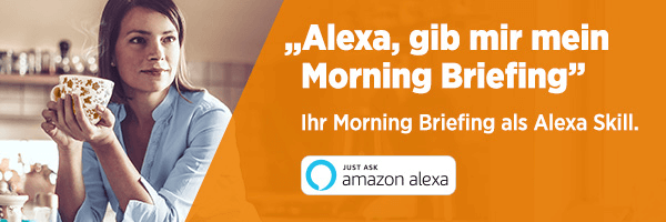 Morning Briefing: Alexa