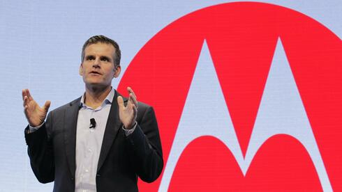 Motorola Mobility CEO Dennis Woodside in New York. Quelle: Reuters