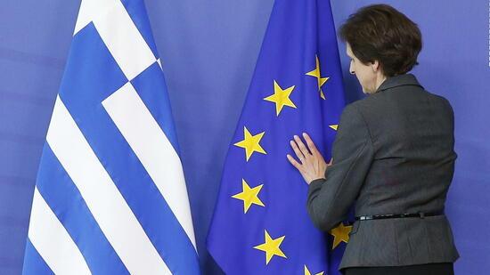 Das Vertrauen der Griechen in Premier Tsipras ist zerstört. Auch in die Problemlösungsfähigkeit der EU? Quelle: dpa
