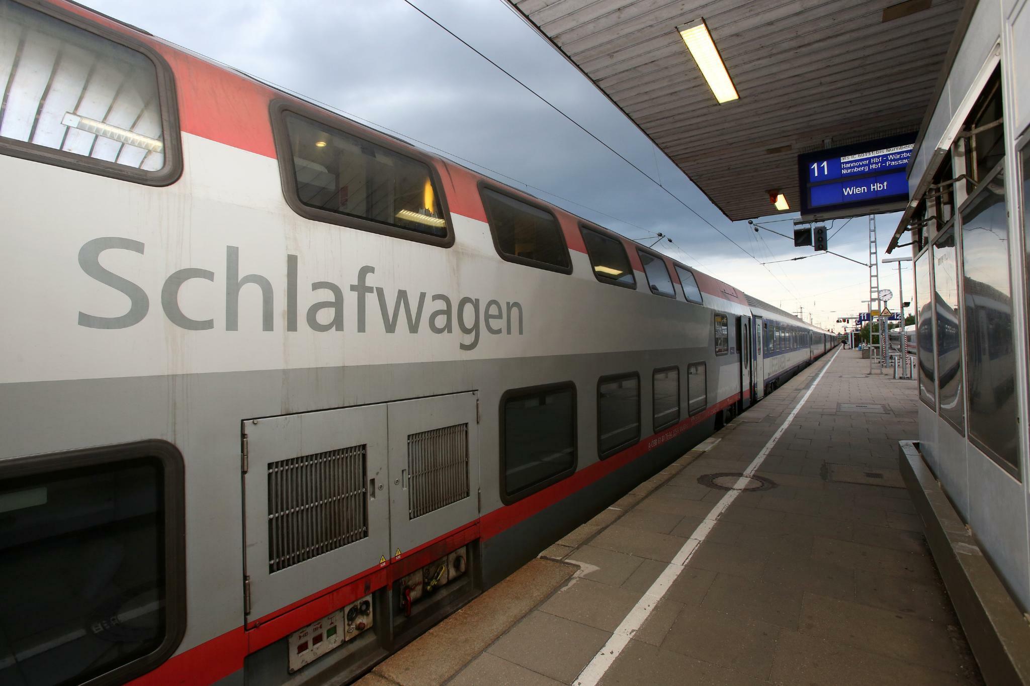 ÖBB setzt weitere Nachtzüge in Deutschland ein