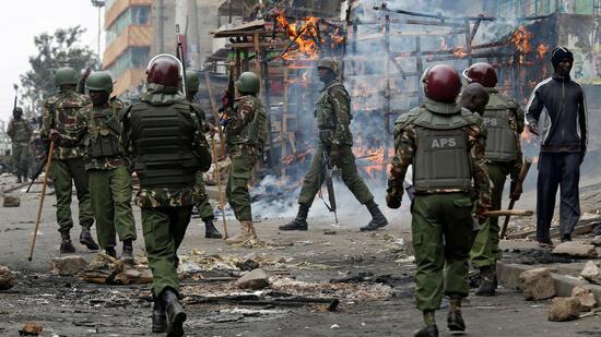 Zwei Demonstranten in Kenia erschossen