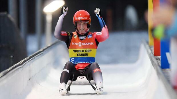 Rodeln: Geisenberger Dritte im Sprintrennen von Lillehammer