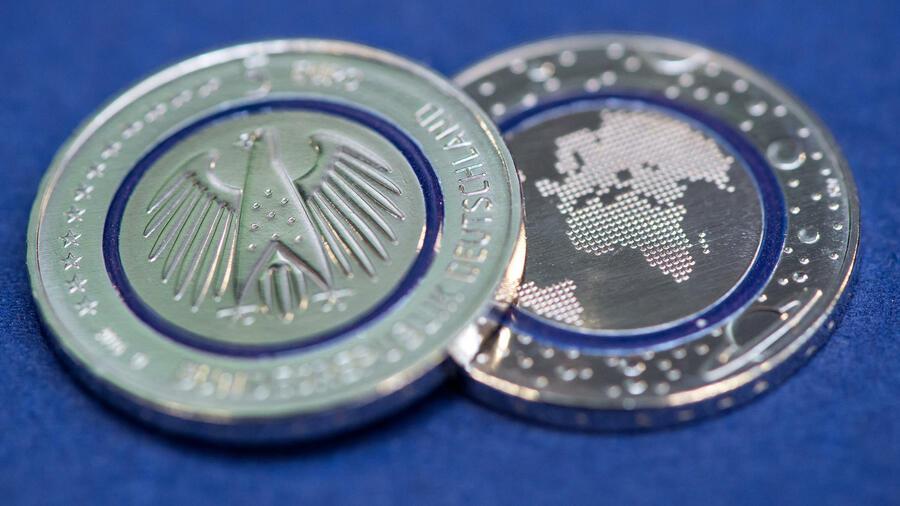 Fünf Euro Münze Blauer Planet Erde Noch Mehr Fakten Zur Fünf Euro