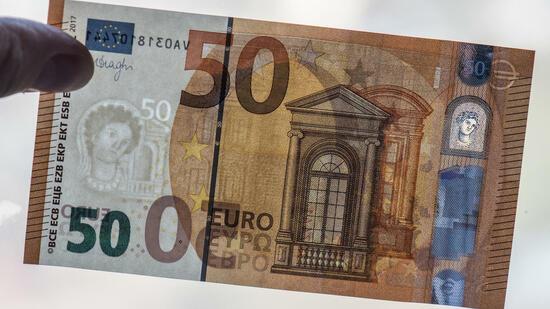 Vorsicht Blüten! 50-Euro-Scheine am häufigsten betroffen