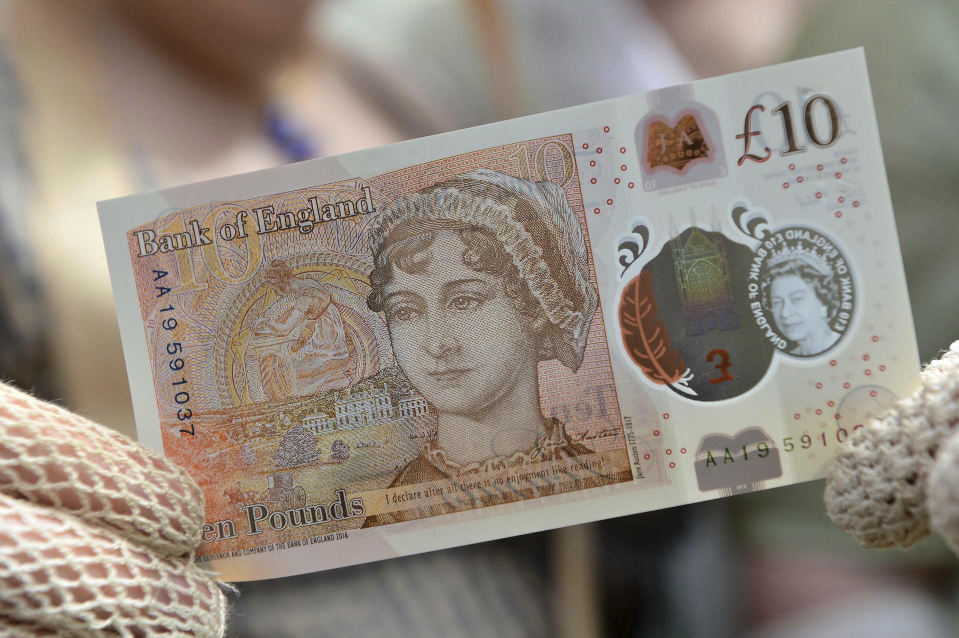 Bank Of England Britische Notenbank Stellt Neue Zehn Pfund Banknote Vor