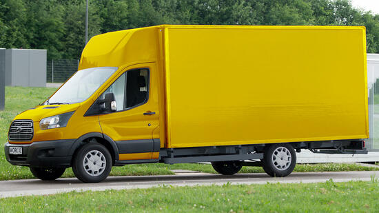 Post und Ford bauen größeren Elektro-Transporter