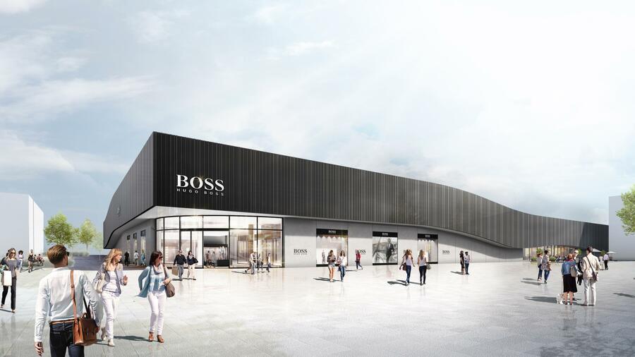033ca0f8fe7e2f Der Modekonzern investiert einen zweistelligen Millionenbetrag in das neue  Center. Quelle  Hugo Boss