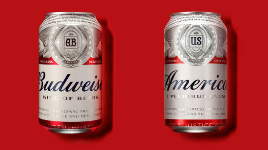 Neues Budweiser-Design