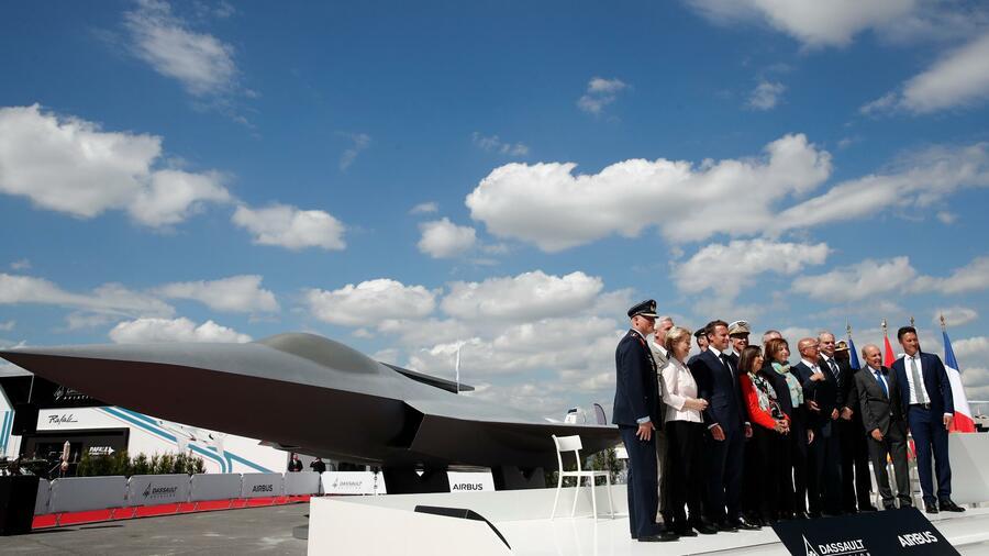 Partner feiern Start des neuen Luftwaffensystems FCAS