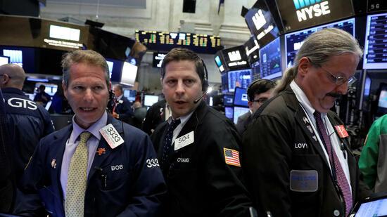 Börse New York: Wall Street tritt auf der Stelle