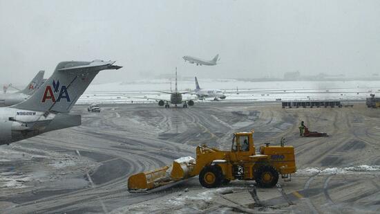 Schwerer Schneesturm in New York erwartet