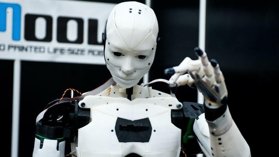 automatisierte arbeit menschen roboter und 3d drucker. Black Bedroom Furniture Sets. Home Design Ideas