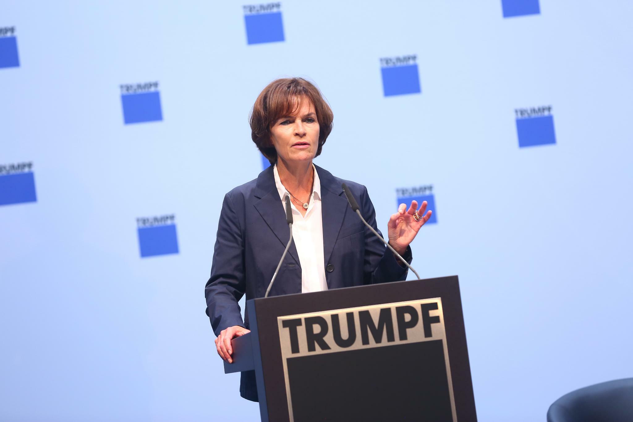 Nicola Leibinger Kammüller: Trumpf-Chefin kämpft um Fachkräfte