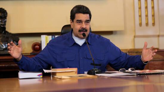 VenezuelaMaduro kündigt Referendum über neue Verfassung an