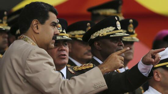 Eintägiger Generalstreik gegen Präsident Maduro in Venezuela
