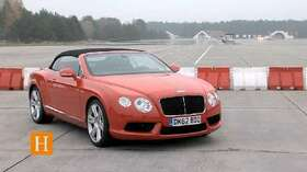 Bentley Continental GTC V8: Nobel in den Mai