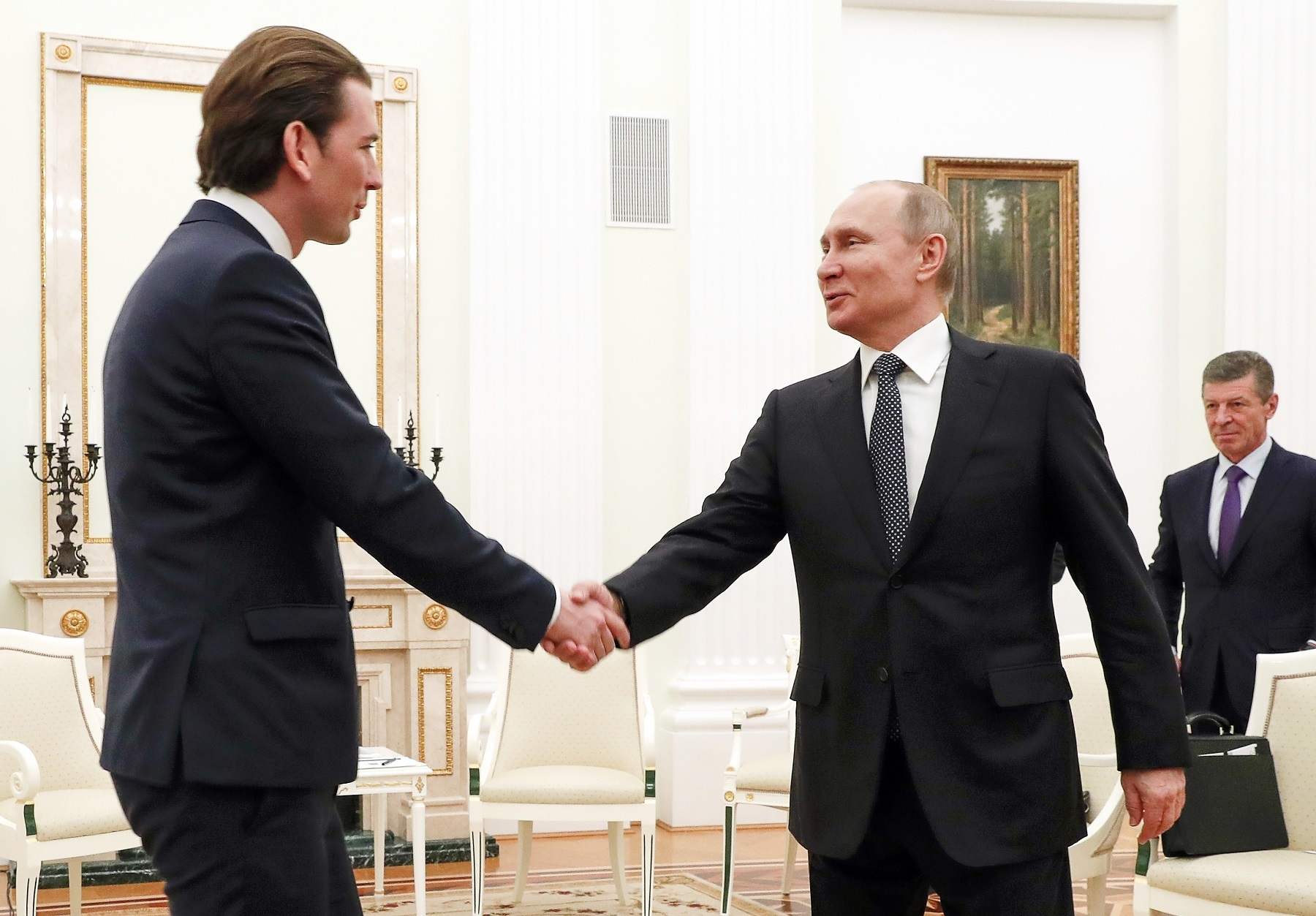 Close And Cozy Putin Visits His Best Buddy In The Eu Austria S Sebastian Kurz