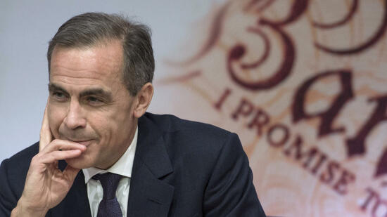 Notenbankchef Mark Carney