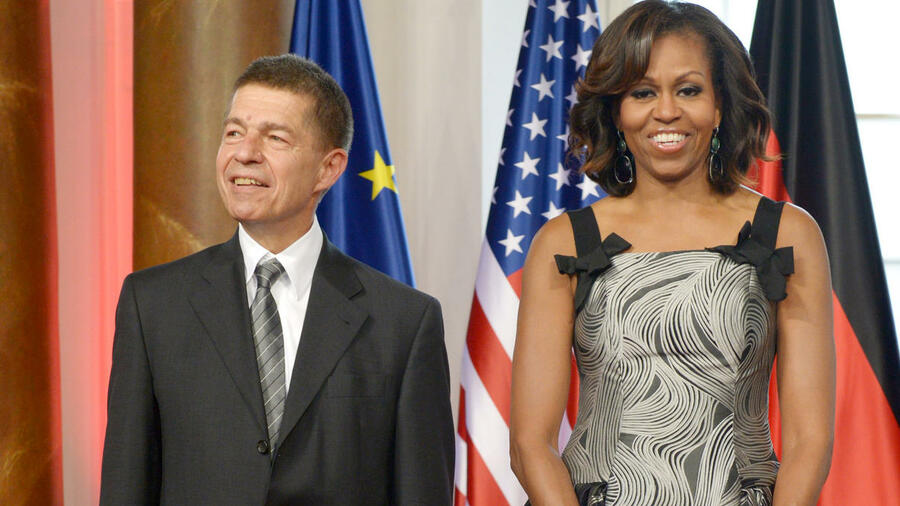 joachim sauer wird 65 grillen mit bush essen mit obama. Black Bedroom Furniture Sets. Home Design Ideas