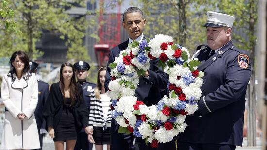 Nach Bin Ladens Tod: Obama besucht Ground Zero