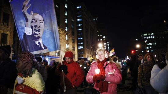 "Mahnwachen: ""Occupy"" marschiert auf Martin Luther Kings Spuren"