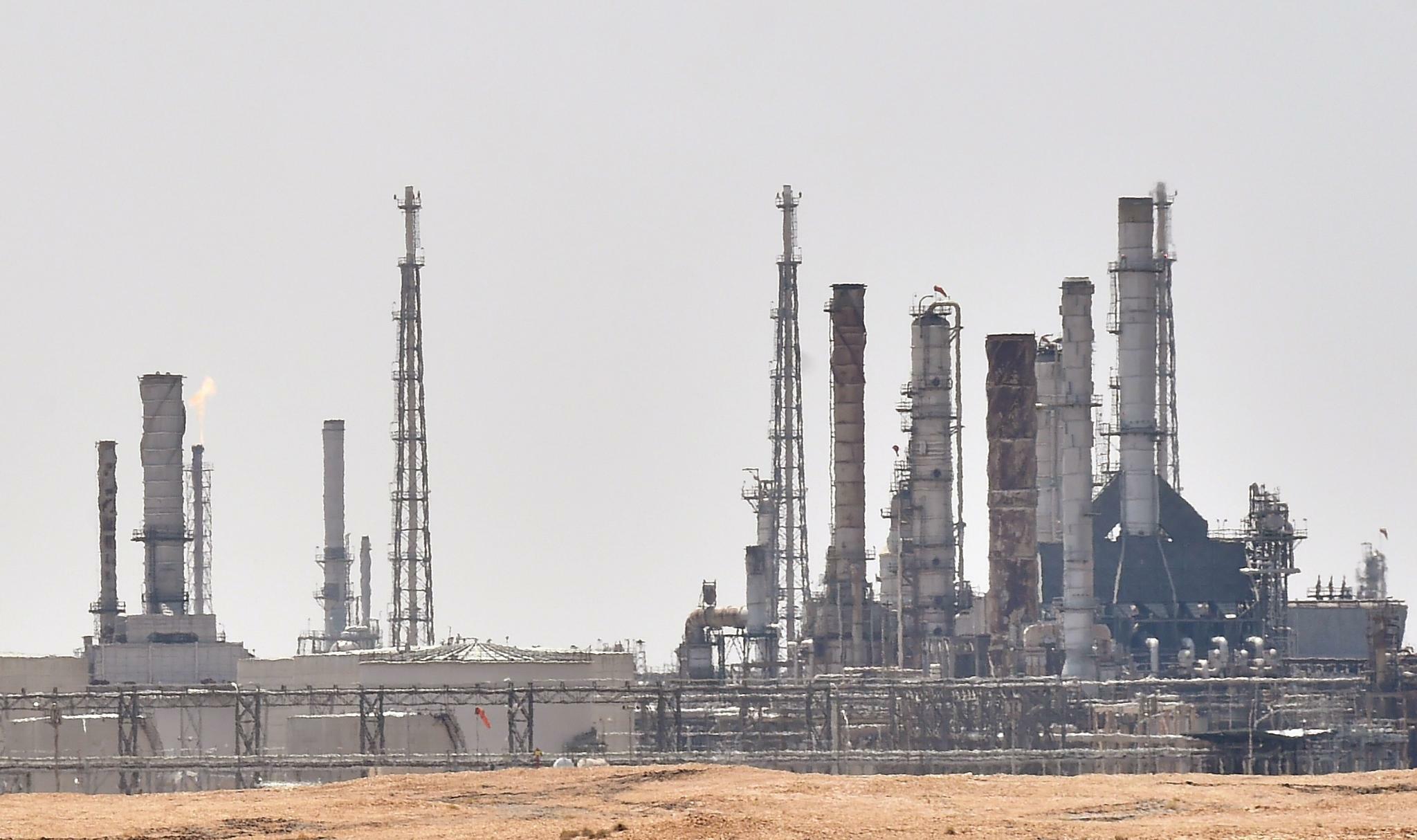 Angriff: Die Ölproduktion Saudi-Arabiens ist erheblich gestört