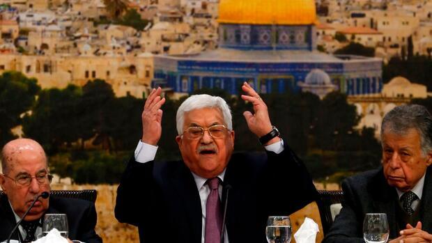 "Palästinenserpräsident: Abbas nennt Trumps Jerusalem-Entscheidung ""Ohrfeige des Jahrhunderts"""