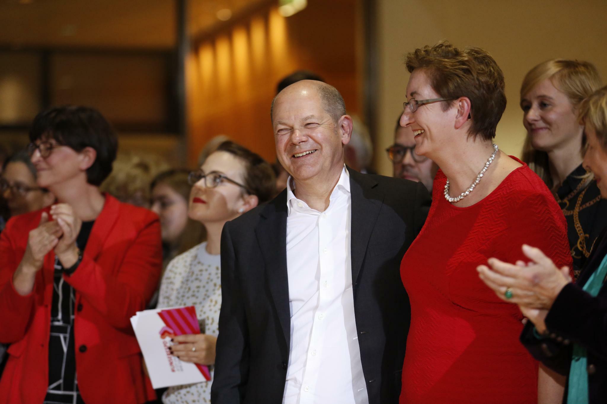 SPD-Mitgliederentscheid: Glanzloser Sieg für Olaf Scholz