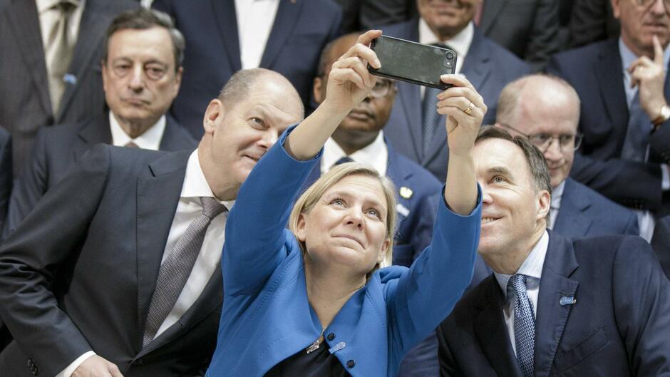 SPD-Wahlkampf aus den USA: Scholz nutzt die internationale Bühne