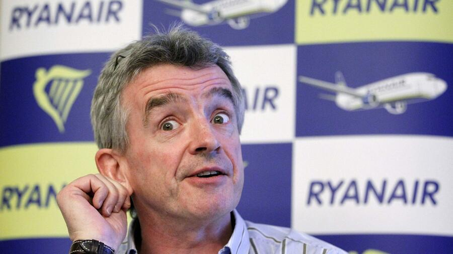Ryanair Chef Michael O'Leary. Quelle: Reuters