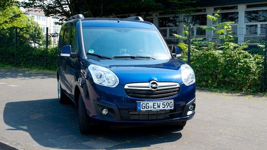 opel combo 1 4 turbo cng im test die aerodynamik eines. Black Bedroom Furniture Sets. Home Design Ideas